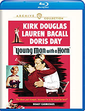 Young Man with a Horn Blu-Ray Cover