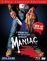 Maniac Blu-Ray Cover