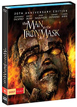 The Man in the Iron Mask 20th Anniversary Blu-Ray Cover
