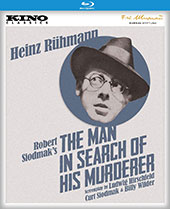 The Man in Search of His Murderer Blu-Ray Cover