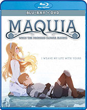 Maquia: When the Promised Flower Blooms Blu-Ray Cover