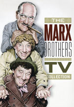 DVD Cover for The Marx Brothers TV Collection
