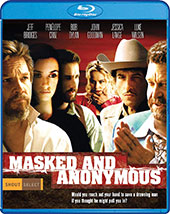 Masked and Anonymous Blu-Ray Cover