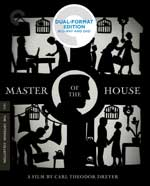 Criterion Collection Blu-Ray Cover for Master of the House