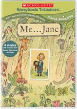 DVD Cover for Me... Jane... And More Stories About Girl Power
