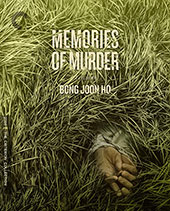 Memories of a Murder Criterion Collection Blu-Ray Cover