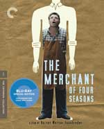 Criterion Collection Blu-Ray Cover for The Merchant of Four Seasons