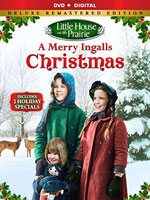 DVD Cover for Little House on the Prarie: A Merry Ingalls Christmas