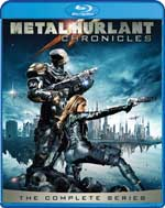 Metal Hurlant Chronicles: The Complete Series Blu-Ray Cover