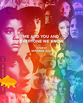 Me and You and Everyone We Know Criterion Collection Blu-Ray Cover