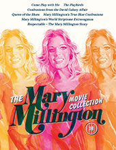 The Mary Millington Movie Collection Blu-Ray Cover