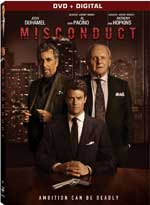 DVD Cover for Misconduct