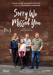 Sorry We Missed You DVD Cover