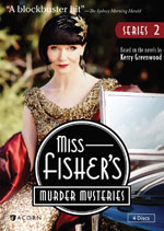 DVD Cover Miss Fisher's Murder Mysteries, Set 2