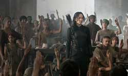 Jennifer Lawrence prepares for the revolution in the top action film of 2014, The Hunger Games: Mockingjay - Part One.