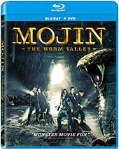 Mojin: The Worm Valley Blu-Ray Cover
