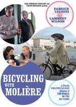DVD Cover for Bicycling with Moliere