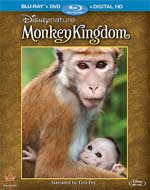 Monkey Kingdom Blu-Ray Cover