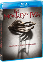 Blu-Ray Cover for The Monkey's Paw