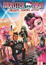 DVD Cover for Monster High: Frights, Camera, Action!