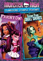 DVD Cover for Monster High: Clawesome Double Feature