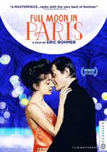 DVD Cover for Full Moon in Paris