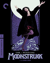 Moonstruck Criterion Collection Blu-Ray Cover