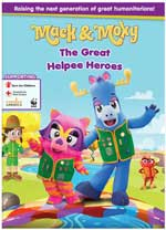 DVD Cover for Mack & Moxy: The Great Helpee Heroes
