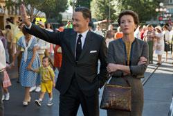 Tom Hanks and Emma Thompson in the 2013 top drama film Saving Mr. Banks