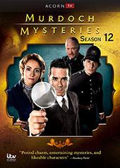 Murdoch Mysteries, Season 12 DVD Cover
