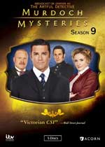 DVD Cover for Murdoch Mysteries: Seaon 9
