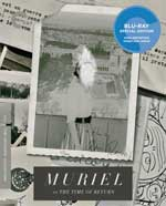 The Criterion Collection Blu-Ray Cover for Muriel, or the Time of Return
