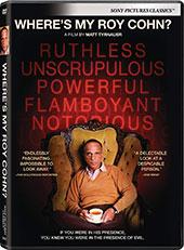 Where's My Roy Cohn? DVD Cover