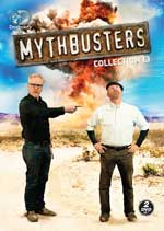 DVD Cover for Mythbusters Collection 13