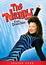 DVD Cover for The Nanny: Season 4