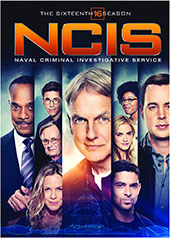NCIS: The Sixteenth Season DVD Cover