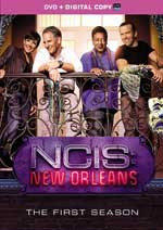 DVD Cover for NCIS: New Orleans the Complete First Season