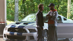 Aaron Paul lives life in the fast lane in the 2014 top action film Need for Speed
