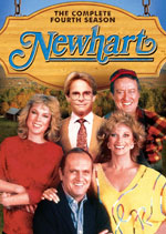 DVD Cover for Newhart: The Complete Fourth Season