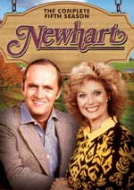 DVD Cover for Newhart: Season Five