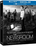 The Newsroom: The Complete Second Season Blu-Ray Cover