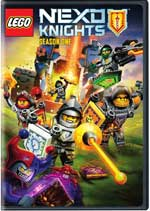 DVD Cover for LEGO Nexo Knights - Season 1
