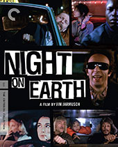 NIght on Earth Criterion Collection Blu-Ray Cover