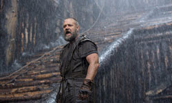 Russell Crowe gets Biblical in the top 2013 action drama film, Noah.