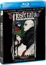 Nosferatu the Vampyre Blu-Ray Cover