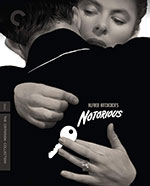 Notorious Criterion Collection Blu-Ray Cover