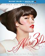 Blu-Ray Cover for Nurse 3D