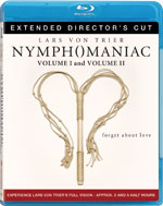 Nymphomaniac Extended Director's Cut 1 & 2 Blu-Ray Cover