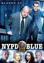 DVD Cover for NYPD Blue Season Nine