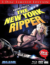 New York Ripper Blu-Ray Cover